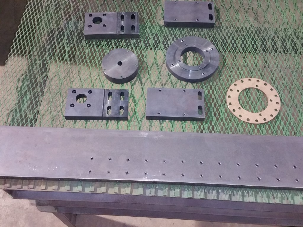 parts to be processed